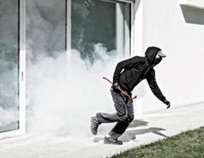 Schutznebel stoppt den Einbrecher in weniger als 20 Sekunden!